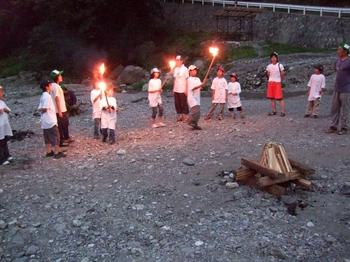 休暇村2008キャンプファイヤー
