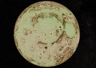 かぐやデータ月面3D表