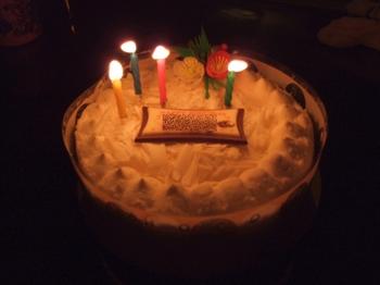 ムスコの誕生日ケーキ2008
