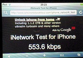 fon×livedoor Wireless Speed